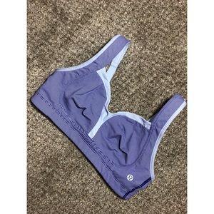 LULULEMON blue purple 34C sports bra